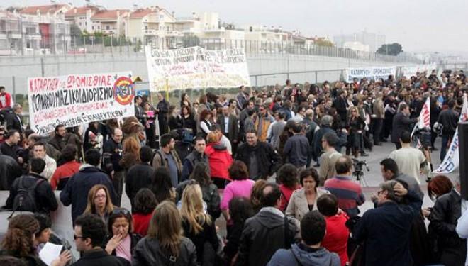 Εκπαιδευτικό συλλαλητήριο – Στάση εργασίας